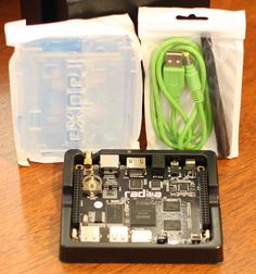 radxa The $100 Quad-Core ARM Raspberry Pi Alternative = runs ubuntu and android = fast quad-core processor 2gb ram 8gb flash bluetooth =  competiton is form beaglebone