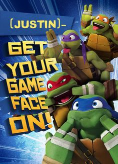TMNT - Game Face