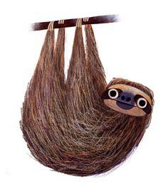 Pygmy Three-Toed Sloth illustration by Brendan Wenzel. Oh, sloths. Children's Book Illustration, Character Illustration, Background Cool, Sloth Drawing, Wow Art, Grafik Design, Creature Design, Animal Design, Graffiti