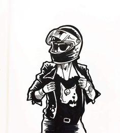 29 Ideas For Motorcycle Girl Illustration Biker Chick girl Motorbike Girl, Motorcycle Art, Motorcycle Design, Bike Art, Motorcycle Birthday, Women Motorcycle, Biker Chick, Biker Girl, Pop Art