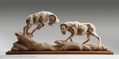 25 Tác phẩm điêu khắc gỗ bởi Giuseppe Rumerio