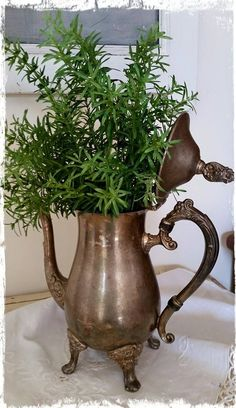Re - purpose an old coffee pot