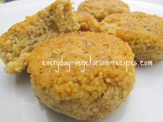 Delicious Savory Millet Cakes