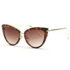 AEVOGUE Newest Alloy Temple Sunglasses Women Top Quality Sun Glasses Original Brand Designer Gafas Oculos De Sol UV400 AE0269