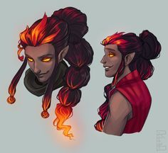 Designs for a character from Mercy's past - a fire. - RED art + animation T. - Designs for a character from Mercy's past – a fire… – RED art + animation The Effective Pi - Character Design Challenge, Character Design Animation, Fantasy Character Design, Character Creation, Character Drawing, Character Design Inspiration, Character Concept Art, Character Sketches, Character Illustration