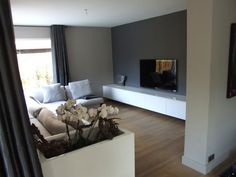 Tv meubels op maat gemaakt. Hoogglans wit  Tv meubel  Pinterest ...