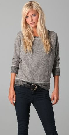 smokeshadow sweatshirt, madewell