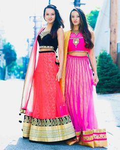 Poonam and Priyanka Shah are choreographers who live in Chicago. Watch their Bharatnatyam popping YouTube video.
