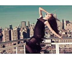 29 Panoramic Rooftop Photoshoots #fashion trendhunter.com