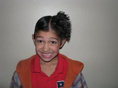 Crazy Hair Day / Teen style / Boy Hairstyle / Hairstylesbymommy