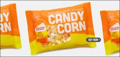 Dye Free Candy Corn! We get these at Whole Foods. They're very sweet. Two of my kids like them and two of them don't. GFCF but contain corn syrup.