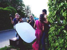 Shooting for magazine