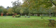 The front lawn at LaTour. The vacation house has this view as well-The Lake Cottage in Gascony
