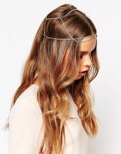 Bild 1 von ASOS – Feine Haarband mit Steinverzierung