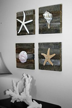 Coastal decor, beach art and furniture. You can improve the natural beauty in your home with splashes of white, as well as beach house decorating ideas. Beach Theme Bathroom, Beach Room, Beach Bathrooms, Beach Art, Bathroom Ideas, Modern Bathroom, Sea Bathroom Decor, Bathroom Designs, Bathroom Wall