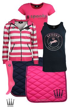 Spooks Navy Pink #horsefashion #spooks #epplejeck #summer #collection #horse