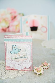 Inky Antics HoneyPOP Birthday Card