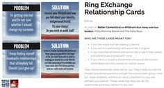 Are you ready to find the right partner or enhance your relationship? These Ring EXchange Relationship Cards by #PYLN Power Your Life Network Member of the Month,  Pamela Evans may be just what you need!  http://www.pam-evans.com/products/relationship-cards #relationship #poweryourlifenetwork #RingExchange https://www.poweryourlifenetwork.com/broadcasterdetails/?user=Pam-Evans