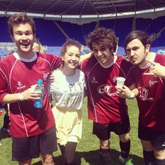 I wish I could meet the Midnight Beast... Oh yeah, and Zoella