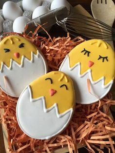 Spring Chick Sugar Cookies Easter cookies by SavannaSweets