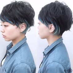 黒髪グラデーションヘアカタログ♡さりげなくおしゃれな旬髪|【HAIR】 My Hairstyle, Cool Hairstyles, Asian Short Hair, Mid Length Hair, Haircut And Color, Dream Hair, Hair Lengths, Black Hair, Short Hair Styles
