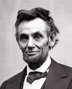 Lincoln in Feb. 1865...my how the years of war, stress and turmoil aged him.