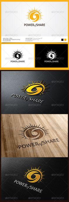 Power of Sharing Logo - Logo Templates