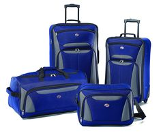 American Tourister Fieldbrook II 4 Piece Set Boarding Bag *** Read more  at the image link.