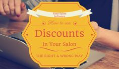 How to apply discounts in your salon