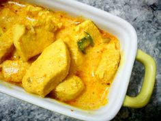 Casa, Coisas e Sabores: Frango com curry e iogurte