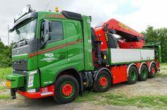 Volvo FH zwaar autokraan . Palfinger. 200 ton.