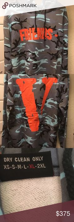 17e36416fba Blue Camouflage Vlone hoodie (PURCHASE THREW DEPOP FOR WORLDWIDE/CHEAPER  SHIPPING) DS ""