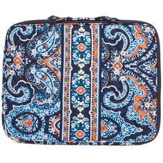 Vera Bradley Laptop Sleeve in Marrakesh ($38) ❤ liked on Polyvore