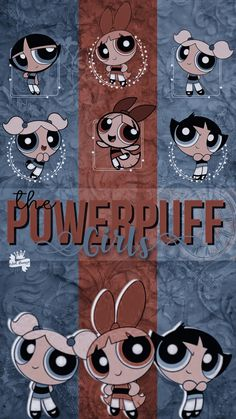 Wallpaper The Powerpuff Girls