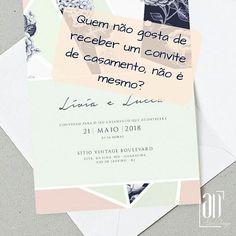 Escolher o convite de casamento é um momento mais que especial, é MA-RA-VI-LHO-SO!  Faça o seu convite com ADalicedesign Entre em contato: Whatsapp: 32 9 8823-7664 alicedesign.ga@gmail.com www.alicedesign.com.br ▫ ▫ ▫ ▫ ▫ ▫ ▫ ▫ ▫ ▫ ▫  #adalicedesign #alicedesign #ad #design #cor #graficdesign #papelaria #arte #convite #coisalinda #criative #criativedesigner #designer #papel #moderno #personality #personalizado #criação #identidadevisual #convitedecasamento #convites #delicado #charmoso…