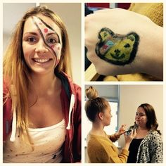 Check out our face painting for Children in Need!
