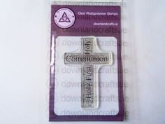 Plus commmunion backing paper Card Making Supplies, Craft Supplies, We Are The Ones, House Of Cards, Craft Shop, Word Art, Craft Gifts, Communion, Jewelry Making
