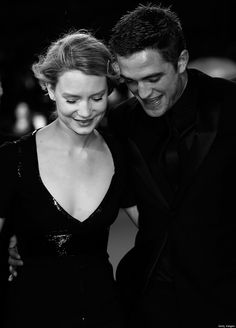 Mia Wasikowska  Robert Pattinson....MAPS TO THE STARS premiere at Cannes 2014