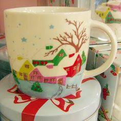 darling! Cath Kidston Christmas mug 2010