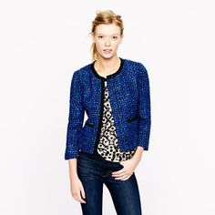 Ask BB: J.Crew's Tweed Jacket for Less - The Budget Babe