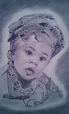 Retrato a lápiz, Africa
