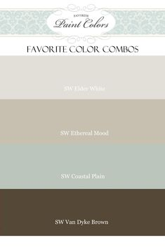 Website with good paint color combos, lots of Benjamin Moore paint colors and room ideas