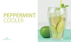 Peppermint Cooler Ingredients 3 cups chilled Peppy Peppermint Herbal Tea Lime slices Mint sprig honey to sweeten, if desired Ice Instructions Cold steep Peppy Peppermint Herbal Tea Add honey if desired Rim a glass with a wedge of lime for a citrus burst every time you sip Pour tea into …
