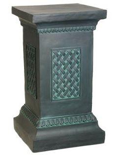 2013 the color of the year :Emeral Decor, Color, Interior Columns, Verdigris, Pedestal, Diy Furniture, Fiberglass, Wainscoting, Plant Pedestal