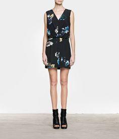 Peony Medea Dress, Women, Dresses, AllSaints Spitalfields