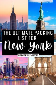 Not sure what to wear on your next trip to New York City? Then check out this ultimate packing list for NYC, filled with essential packing tips and tricks, from a local, that you'll need to help you create NYC outfits that are perfect for every season. What to Wear in NYC | NYC Style Guide | NYC Packing List | NYC Outfits | NYC Aesthetic | NYC Travel | New York Travel | New York Packing List | New York Guide | New York Travel Tips #NYCOutfits #NYCTravel #RNYCGuide #NYCOutfits… Ultimate Packing List, Packing Tips For Vacation, Best Vacation Destinations, Travel Guides, Travel Tips, New York City Attractions, New York City Travel, Culture Travel, European Travel