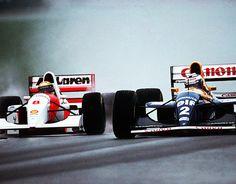 AYRTON SENNA VS ALAIN PROST 1993 #F1 #SENNA #PROST