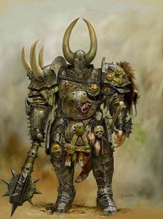 Adrian Smith, Nurgle Chosen, from Warhammer Age of Reckoning.
