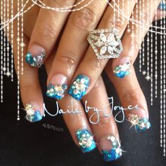 Swarovski  Nails Bling Fancy Nailart