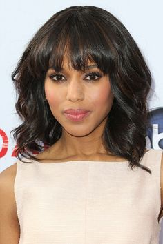 Kerry Washington | Proof That Bangs Can Totally Change Your Face